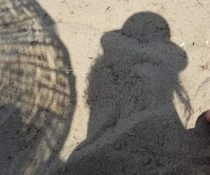 beach, hat, and lol image