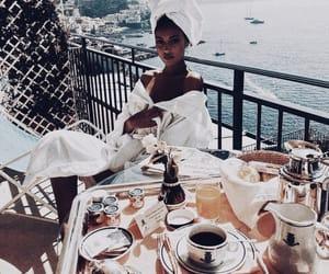 cindy kimberly, italy, and breakfast image