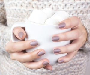 nails, coffee, and marshmallows image