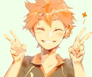 hinata, haikyuu!!, and anime image