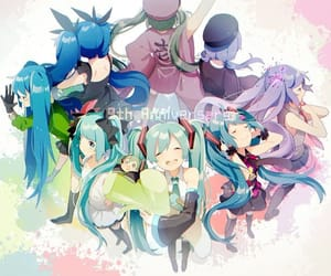 anime girl, miku, and world is mine image