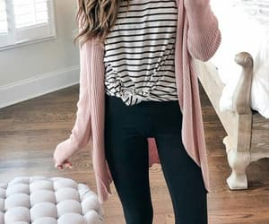 casual, outfit, and pink image
