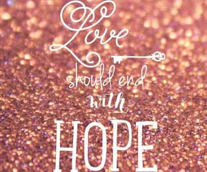 picture, love, and should with hope image