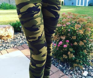 army, leggings, and momlife image