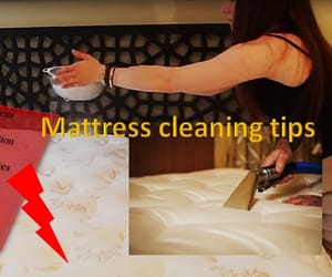 grandma tips, mattress cleaning, and how to clean mattresses image