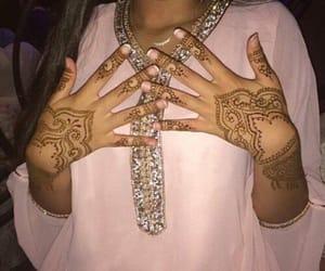 moroccan, henna, and morocco image