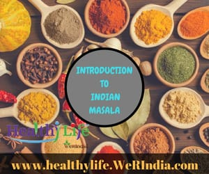 natural health care tips, indian spices, and spices and herbs image