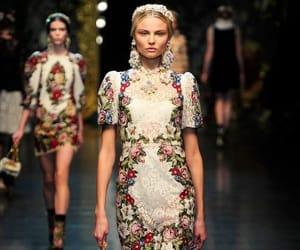 D&G, dress, and Dolce & Gabbana image
