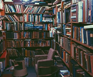 books, inspo, and library image