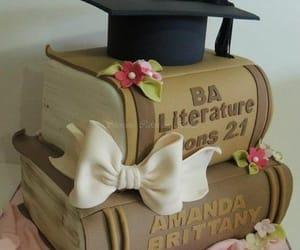 birthday, birthday cake, and books image