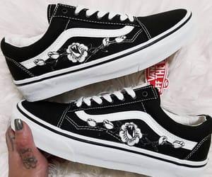 sneakers, vans, and black image