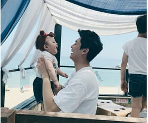 aesthetic, asian baby, and asian boy image
