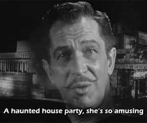 gif, vincent price, and house on haunted hill image