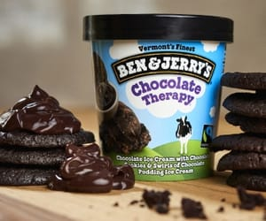 chocolate, ben & jerry's, and love image