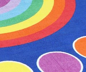 aesthetic, rainbowcore, and rainbow image