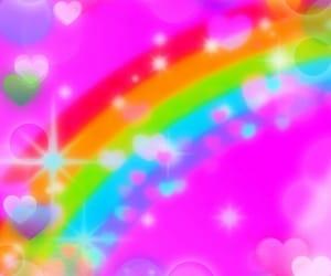 aesthetic and rainbowcore image