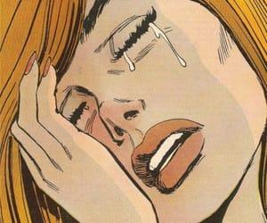 anime, cry, and comics image