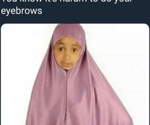 funny, hijab, and meme image