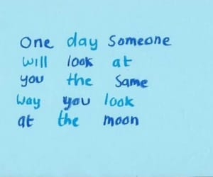 moon, quote, and love image