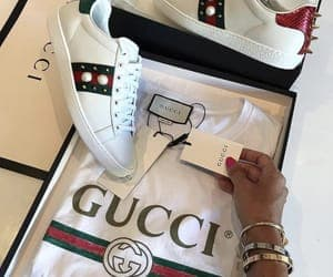 gucci, luxury, and shoes image