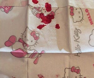 bloody and hello kitty image