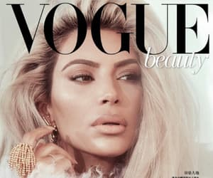 kim kardashian, vogue, and celebrities image