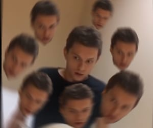 meme, tom holland, and reaction pic image