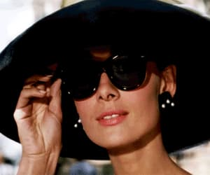 audrey hepburn, Breakfast at Tiffany's, and gif image