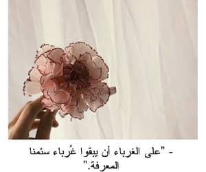 quotes, غرباء, and حُبْ image
