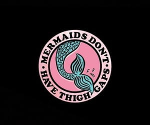 background, mermaid, and pink image