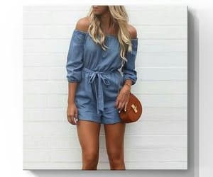 adorable, denim, and outfit image