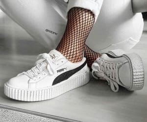 puma, sneakers, and summer image