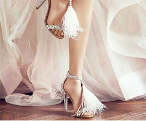 bridal, shoes, and heels image