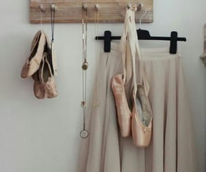 ballet, pretty, and pointes image