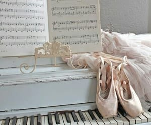 ballet, music, and pointes image
