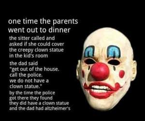 joke, clown, and clown joke image