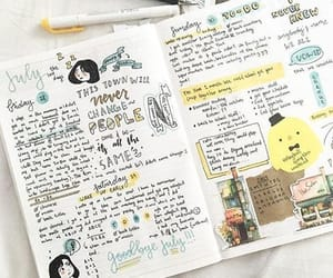 goals, cute, and journal ideas image