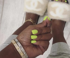 bracelets, designer, and nails image