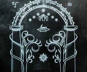 door, enter, and the lord of the rings image