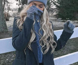 cold, fashion, and winter image