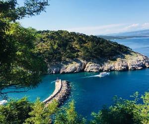 blue, Croatia, and nature image