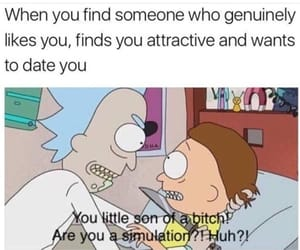 attractive, humor, and like image