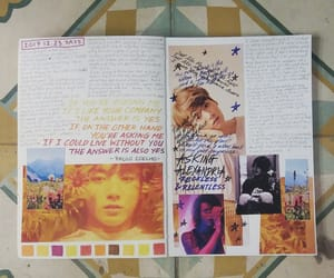 artwork, drawing, and notebook image