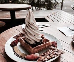 food, breakfast, and cream image