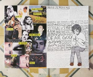 art journal, doodle, and quote image