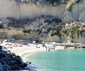 italy, beach, and europe image