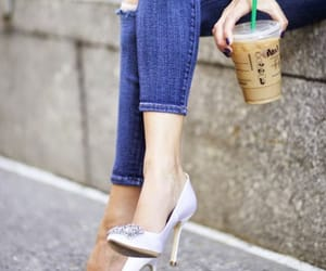 beauty, chic, and pumps image