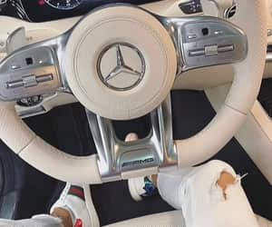 gucci, mercedes, and luxury image