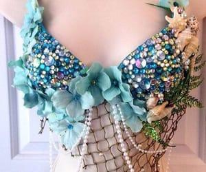 coral, moda, and sirena image