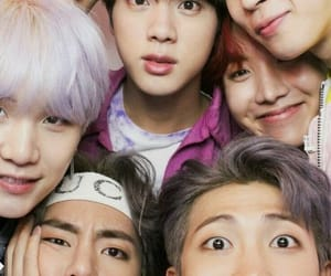 kpop, bts, and late late show image